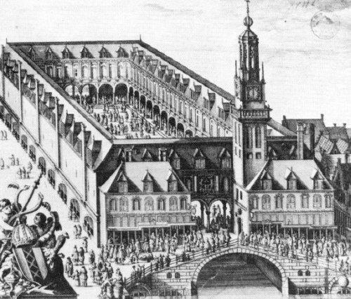 Το χρηματιστήριο του De Keyser στο Άμστερνταμ