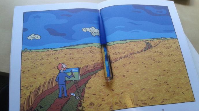 Ο Vincent της Barbara Stok, ο δικός μας Βαν Γκογκ
